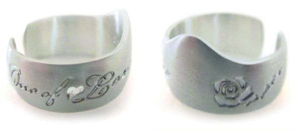 One of Love Posy Rings